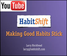 Youtube Video - Making Good Habits Stick